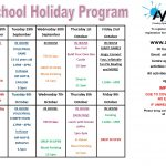 SPRING SCHOOL HOLIDAY PROGRAM