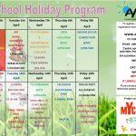 APRIL SCHOOL HOLIDAY PROGRAM